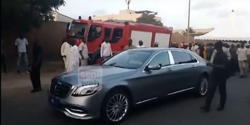 Macky Sall d'offre une nouvelle Maybach